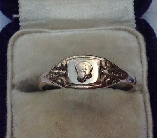 Vintage 10K Gold Filled Ring