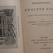 1925 Shakespeare's Twelfth Night