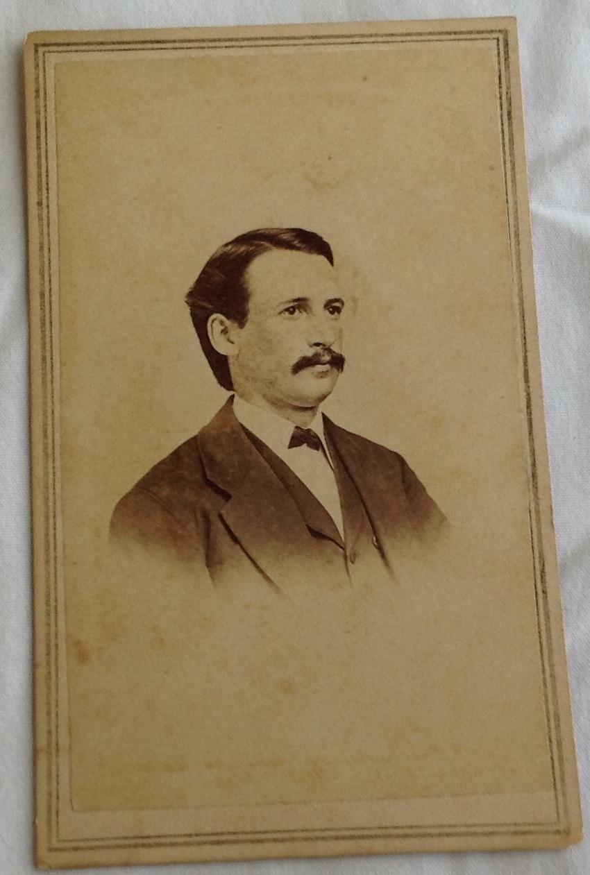 Vintage Cabinet Card Gentleman