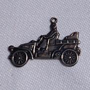 Vintage Sterling Silver Roadster Charm