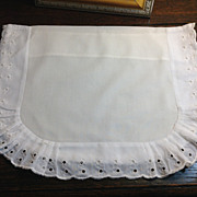 Vintage French Baby Pillow Or Sham Case