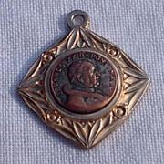 Vintage Gold Tone Metal Joannes XXIII Ponte Max Medal