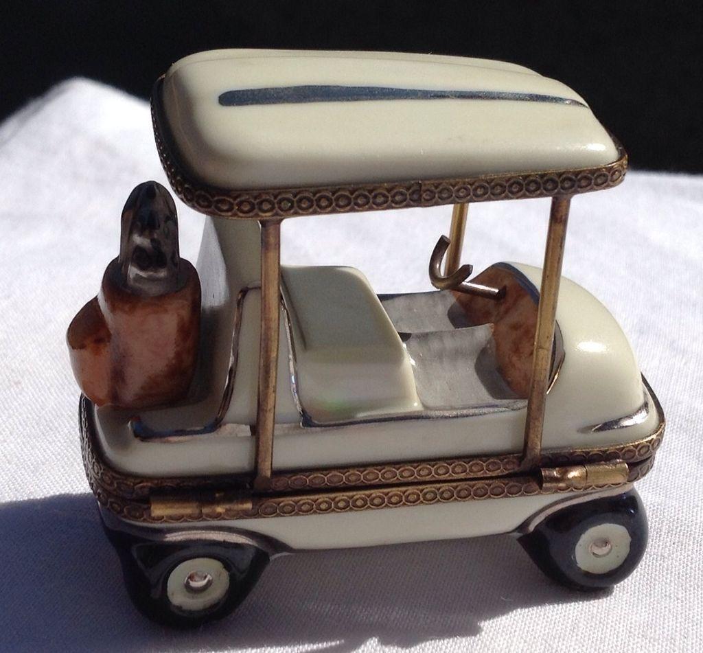 vintage limoges golf cart sold on ruby lane