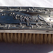 Vintage Silver Plate Clothes Brush - Red Tag Sale Item