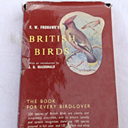 1958 First Edition British Birds By F. W. Frohawk