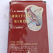 1958 First Edition British Birds By F. W. Frohawk