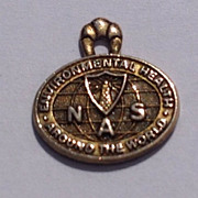 Vintage NAS 10 K Gold Filled Charm