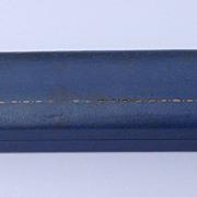 Vintage Blue Leather Bracelet/Necklace Presentation Box