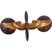 WW 11 Army Air Corps 10K Gold Filled Pin