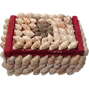Vintage Shell Art Box