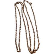 Vintage Gold Filled Chain Necklace