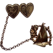 Vintage 1940's Sweetheart Pin