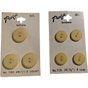 Vintage Pacific Buttons Made In Japan