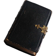 Victorian 1857 Leather Protestant Episcopal Book Of Common Prayer