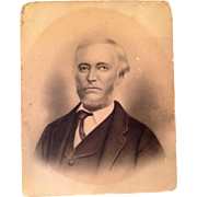 1820 Victorian Photograph Of A Man