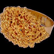 Vintage Gold Tone Metal  Bracelet
