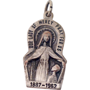 Our Lady Of Mercy Catholic  75th Year Medal