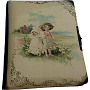 Antique Victorian Celluloid Photo Album