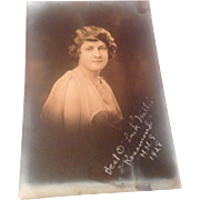 Vintage Real Photo High School Graduation Picture 1928