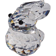 Retired Swarovski Mini Crystal Rabbit