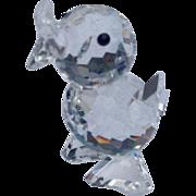 Retired Swarovski Crystal Mini Drake