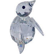 Retired Swarvoski Crystal Mini Penguin