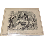 1888 English Picture From Punch, Or The London Charivari