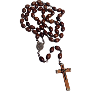 Vintage Large Early Priest Or Nun's Rosary