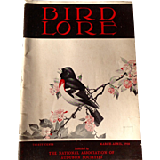 Vintage March - April 1938 Bird Lore Published By The National Association Of Audubon Societies