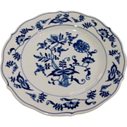 Vintage Blue Danube Blue Onion Salad Plate