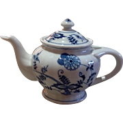 Vintage Blue Danube Blue Onion Tea Pot