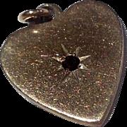 Vintage Gold Filled Heart Shaped Charm
