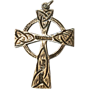 Vintage Sterling Silver Celtic Cross