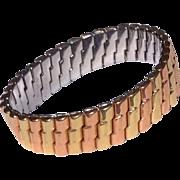 Vintage Gold Filled Stretch Bracelet