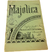 1960 Catalogue Of Majolica Griffen Smith & Co.