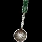 Vintage Sterling Silver Aztec Calendar Mexico