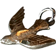 Vintage Sterling Silver Dove Holy Spirit Charm