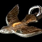 Vintage Sterling Silver Dove Holy Spirit Charm