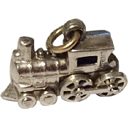 Vintage Sterling Silver Steam Engine Train