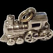Vintage Sterling Silver Steam Engine Train