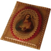 1936 Apostleship Of Prayer Sacred Heart Scapular