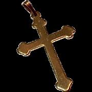 Vintage Estate Gold Filled Cross