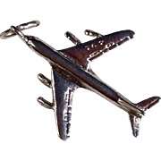 Vintage Sterling Silver Airplane/Aircraft Charm