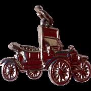 Vintage Sterling Silver Model T Car Charm