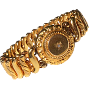 Victorian Gold Filled Expansion Stretch Bracelet