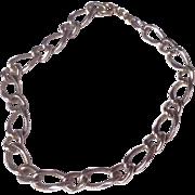 Vintage Beau Sterling Silver Charm Bracelet