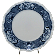 "English Booths 10"" Dinner Plate Victoria Pattern"