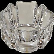 Vintage Orrefors Corona Crystal Bowl