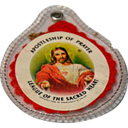 1959 Apostleship Of Prayer Sacred Heart Scapular