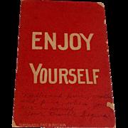 World War I Soldiers Postcard